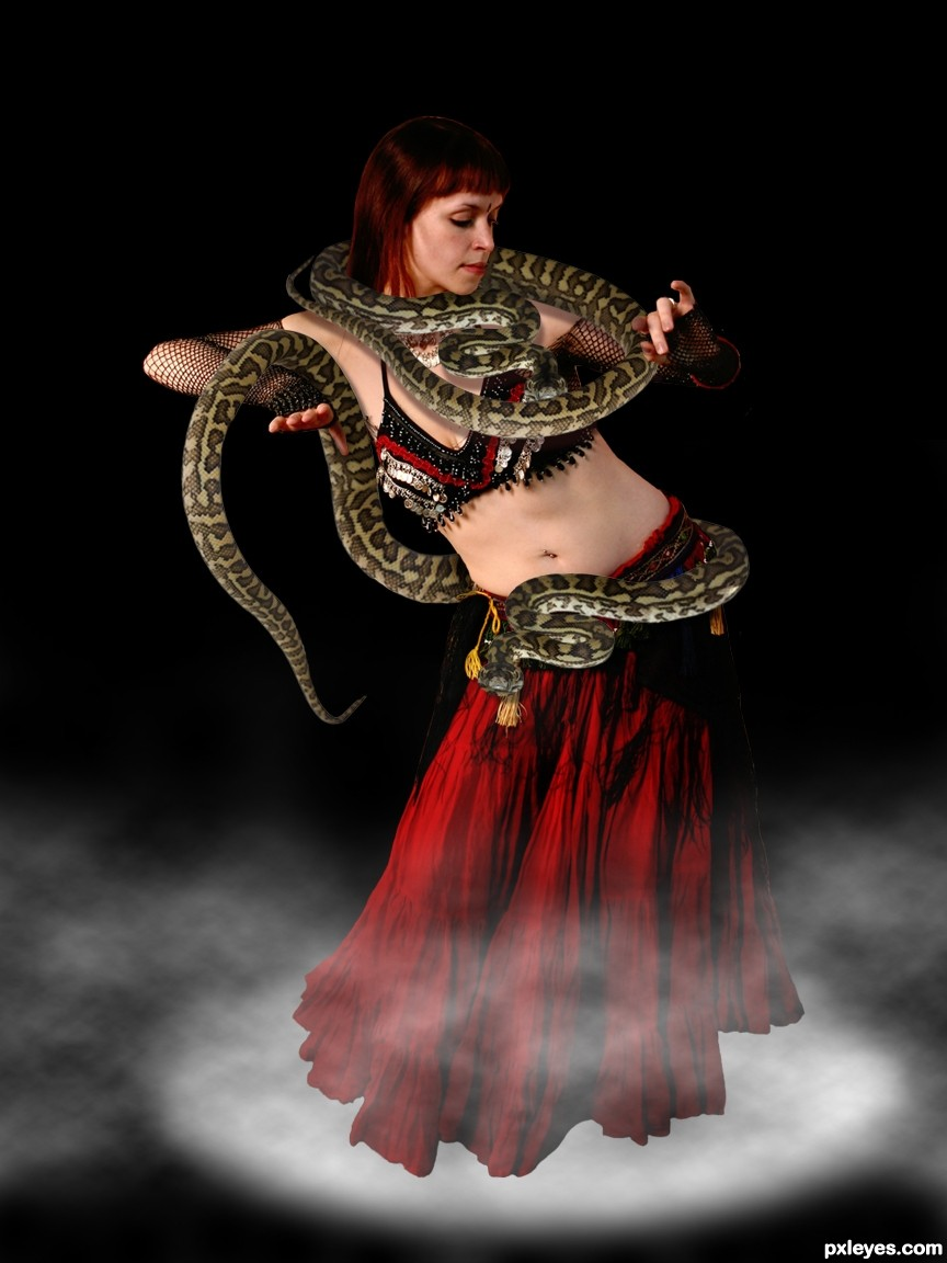 Patsy with snake ;-).jpg